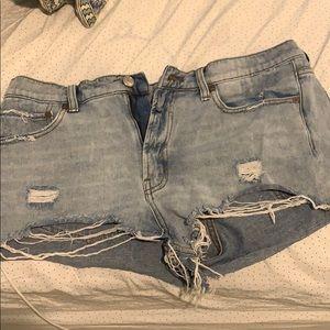 UO Jean shorts